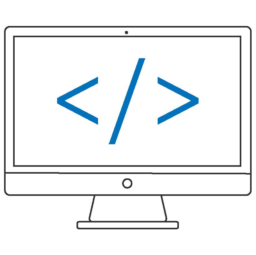 Code development on computer