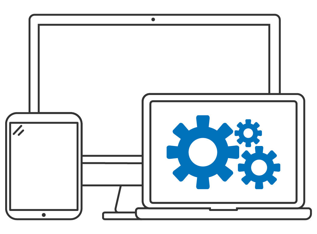 Custom software development on desktop, web, and mobile devices