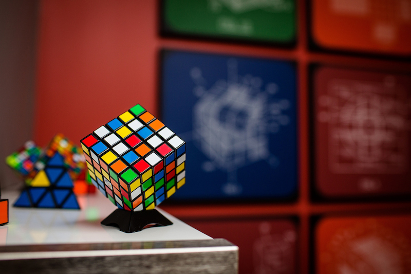 Rubiks cube conference room
