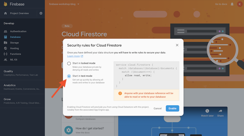 Building Applications Using Firebase Part 3: Firestore
