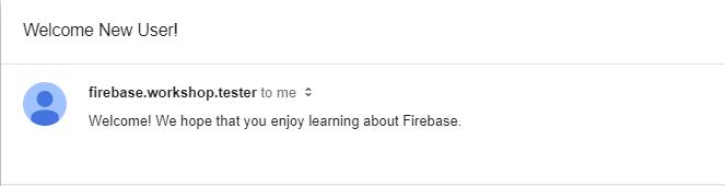 Building Applications Using Firebase, Part 5: Cloud