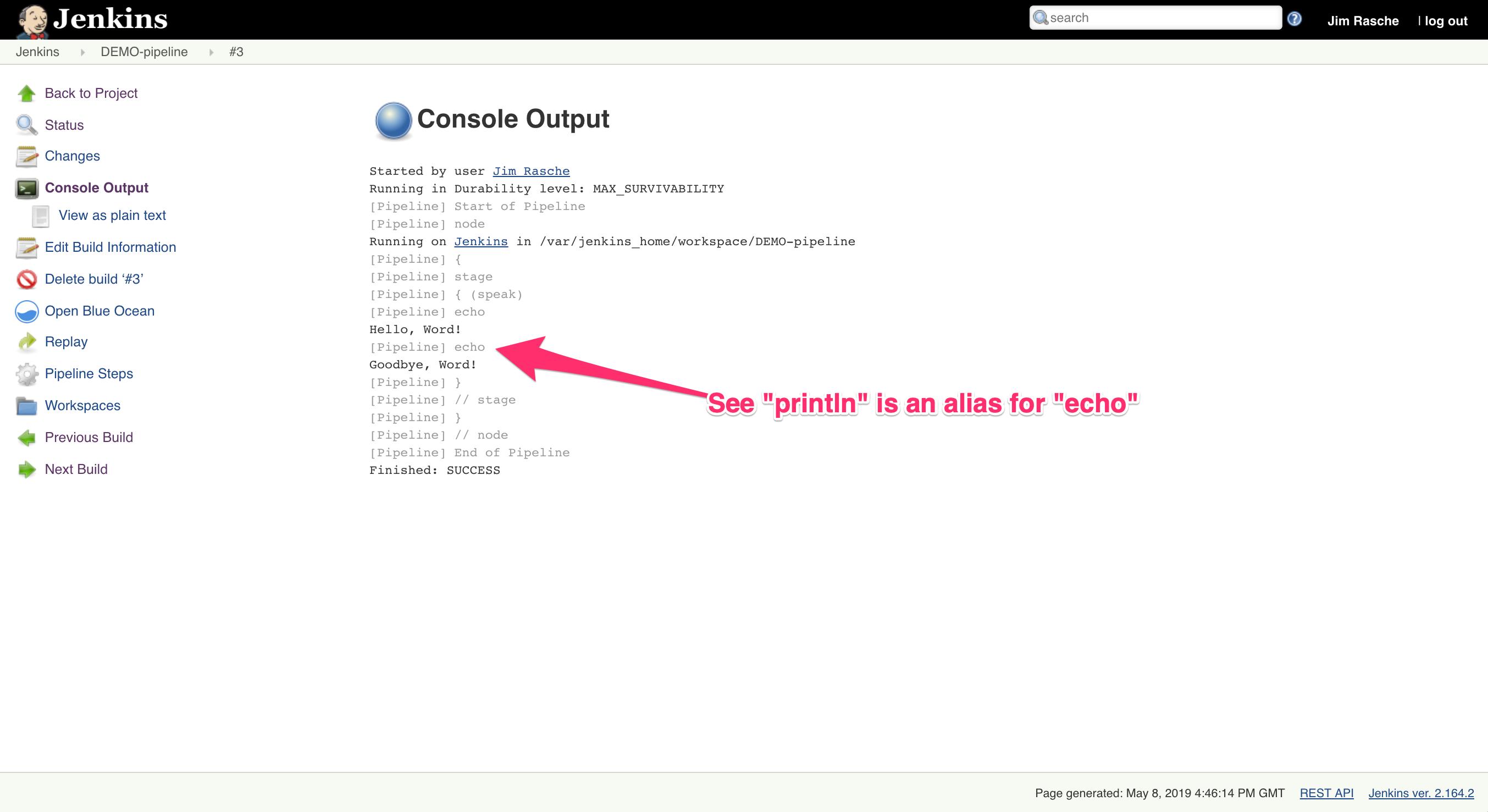 Creating a Slack Notifier using Jenkins Pipeline   Kunz