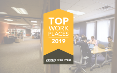 The Detroit Free Press Declares Kunz, Leigh & Associates a 2019 Top Workplace