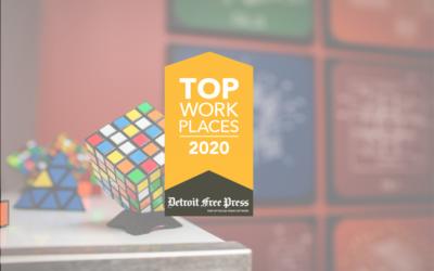 The Detroit Free Press Declares Kunz, Leigh & Associates a 2020 Top Workplace